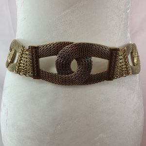 Chico's Gold Tone Chain Belt